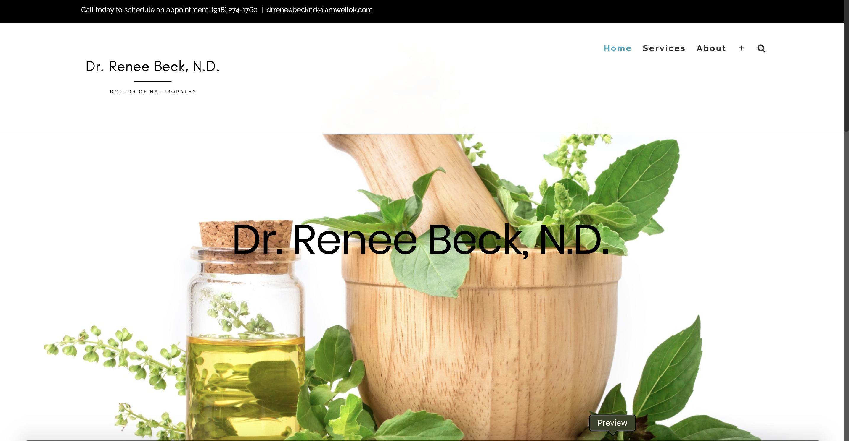 Dr Renee Beck - Naturopath