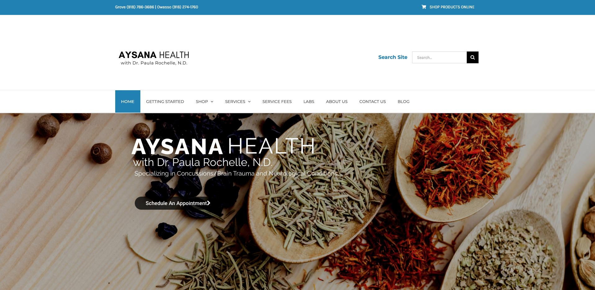 Aysana Health with Dr. Paula Rochelle, N.D.